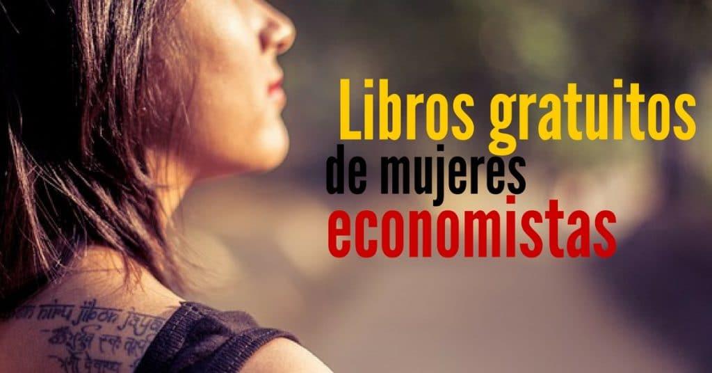 15 libros gratuitos de mujeres economistas