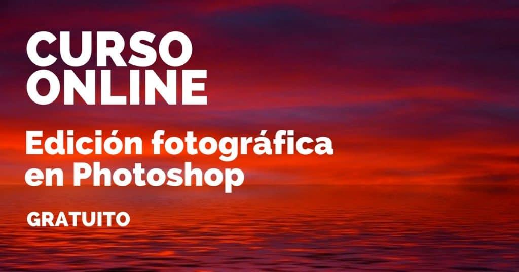 Curso online para edición fotográfica