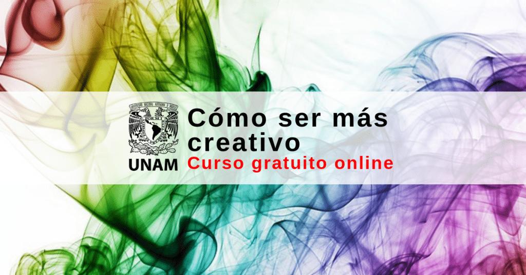 Curso virtual gratuito – Cómo ser mas creativo
