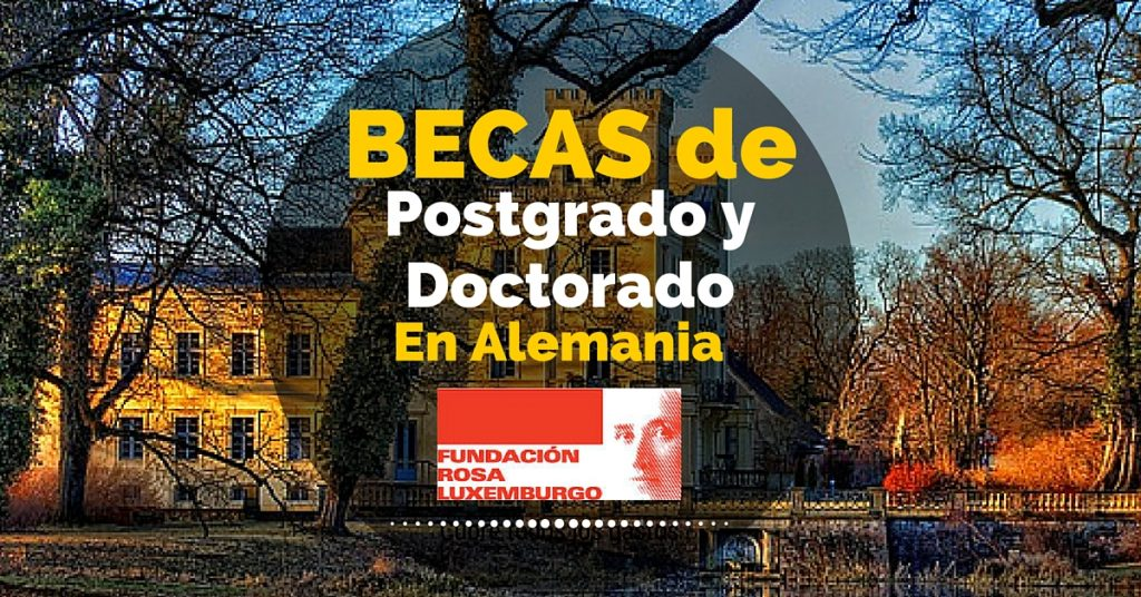 Becas de postgrado y doctorado en Alemania