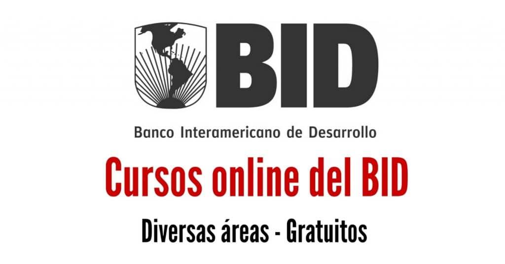 Cursos gratuitos en ESPAÑOL del Banco Interamericano de Desarrollo