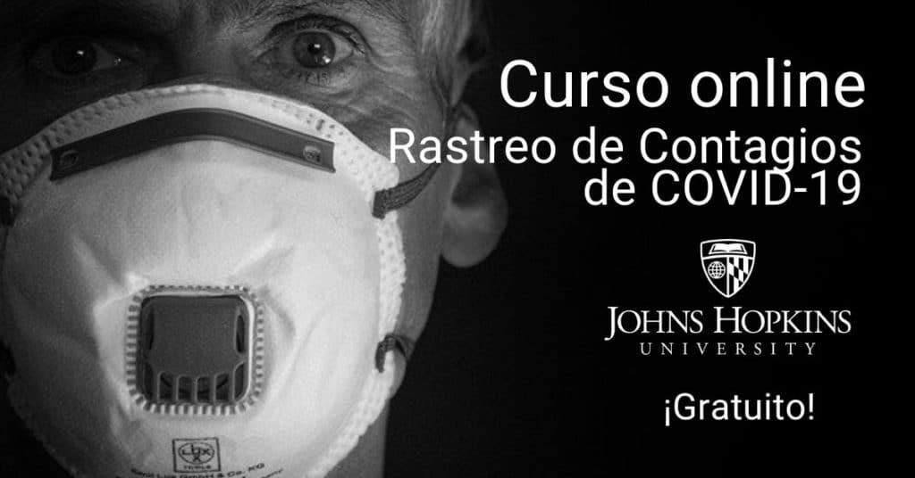 Curso online: rastreo de contagios de COVID-19 con la Universidad Johns Hopkins