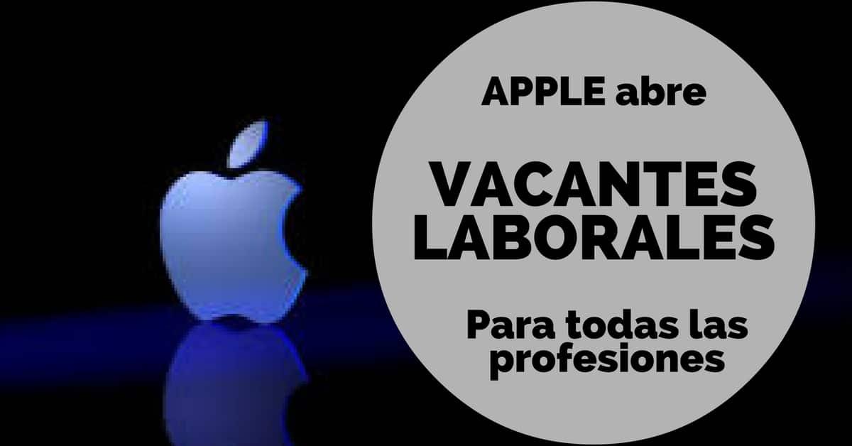 Vacantes laborales con Apple