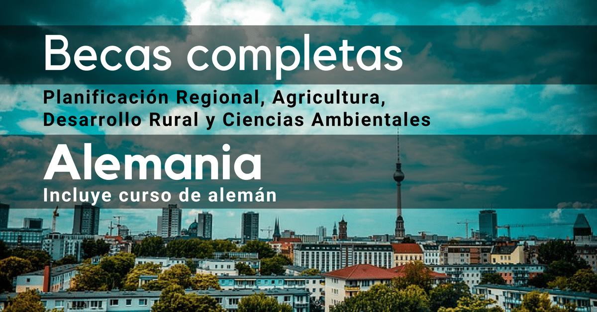Curso de Alemán + Beca completa en Alemania