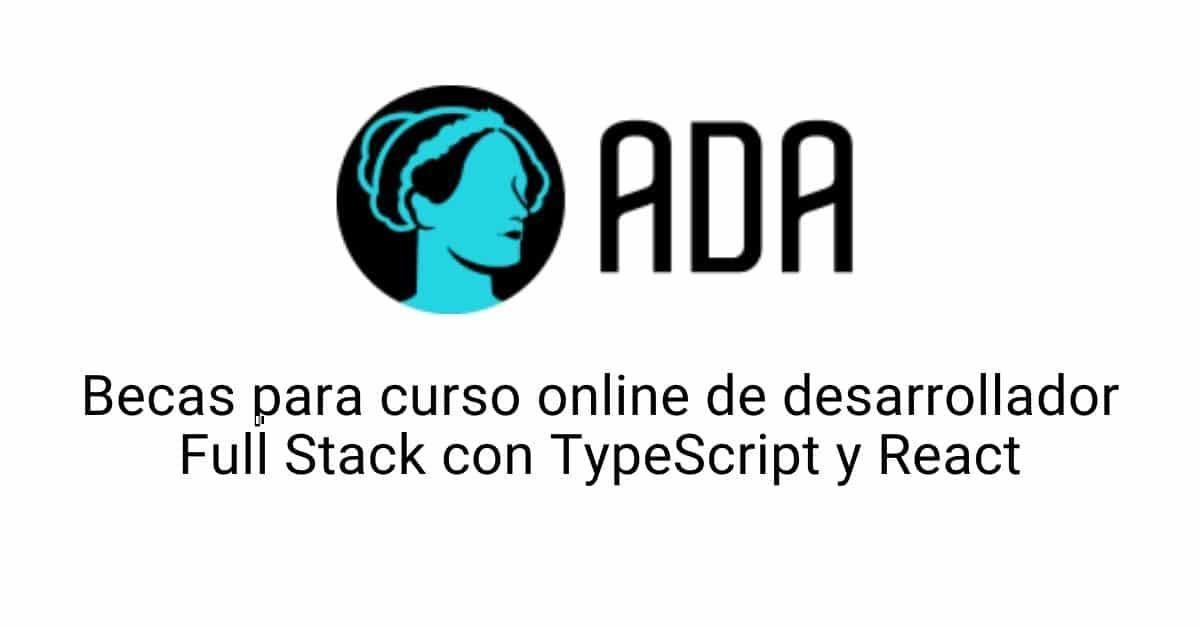 Becas para curso online de desarrollador