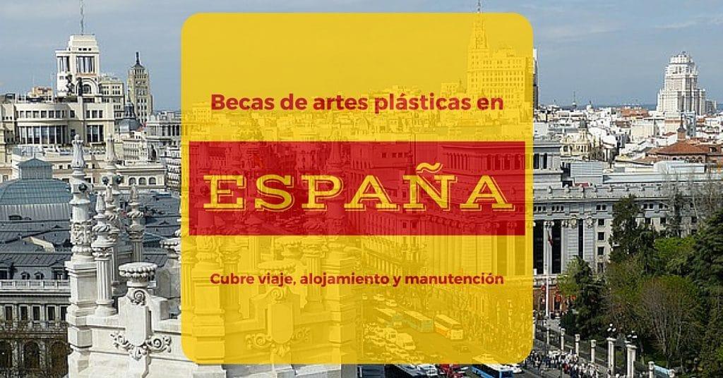 Becas de artes plásticas en España