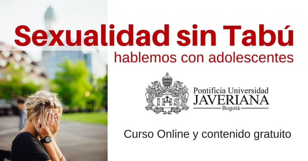 Curso Online para hablar de Sexualidad con adolescentes. Contenido gratuito