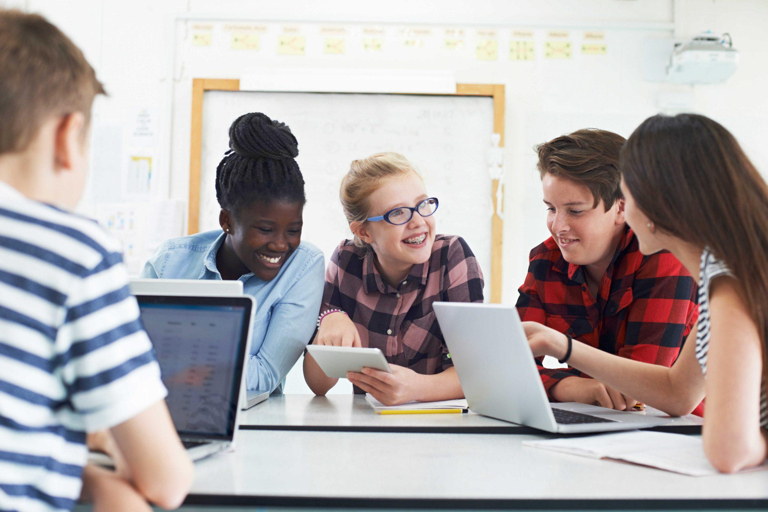 Aprendizaje colaborativo: el futuro inmediato de las TIC en el aula