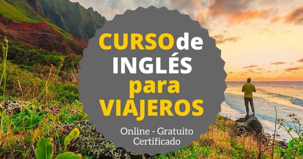 Curso online, gratuito y certificado de inglés para viajeros
