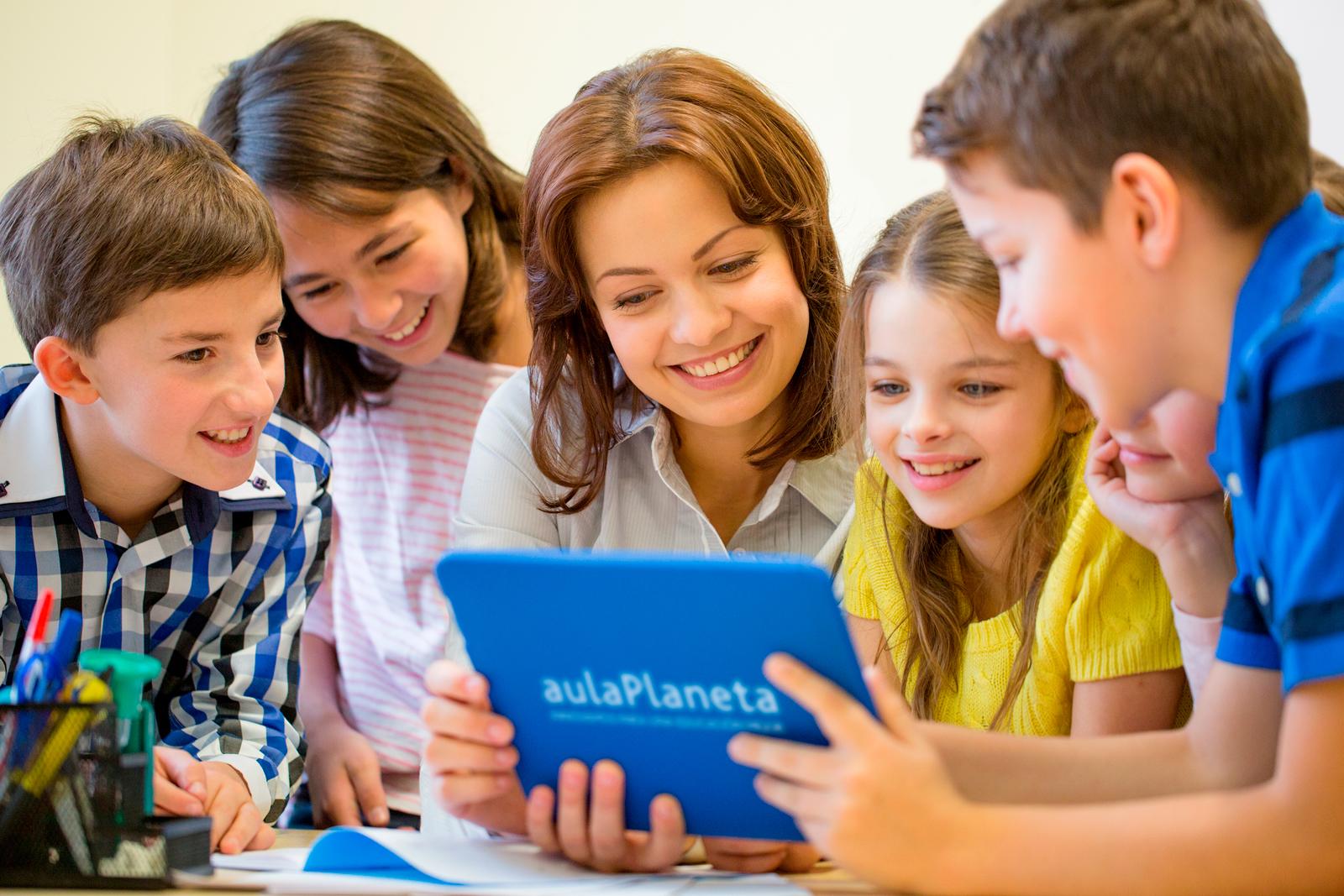 El Grupo Planeta ofrece educación online gratuita a los escolares durante el cierre de los colegios a través de su plataforma aulaPlaneta