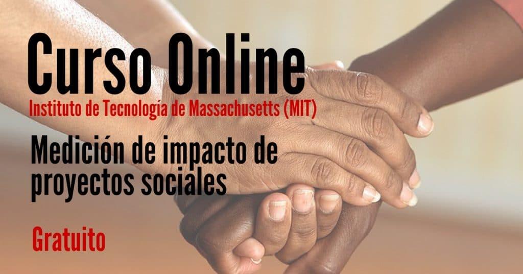 Curso online y gratuito para medir el impacto de proyectos sociales