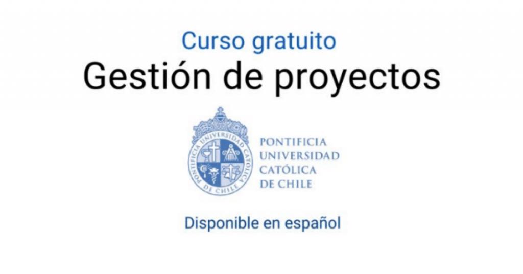 Curso virtual gratuito en español de Gestión de proyectos