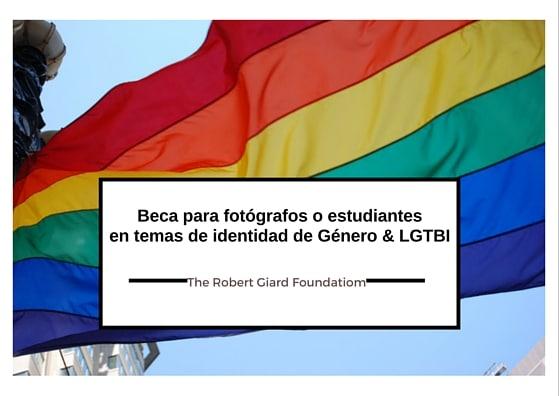 Beca para fotógrafos o estudiantes enfocados en temas de identidad de Género & LGTBI