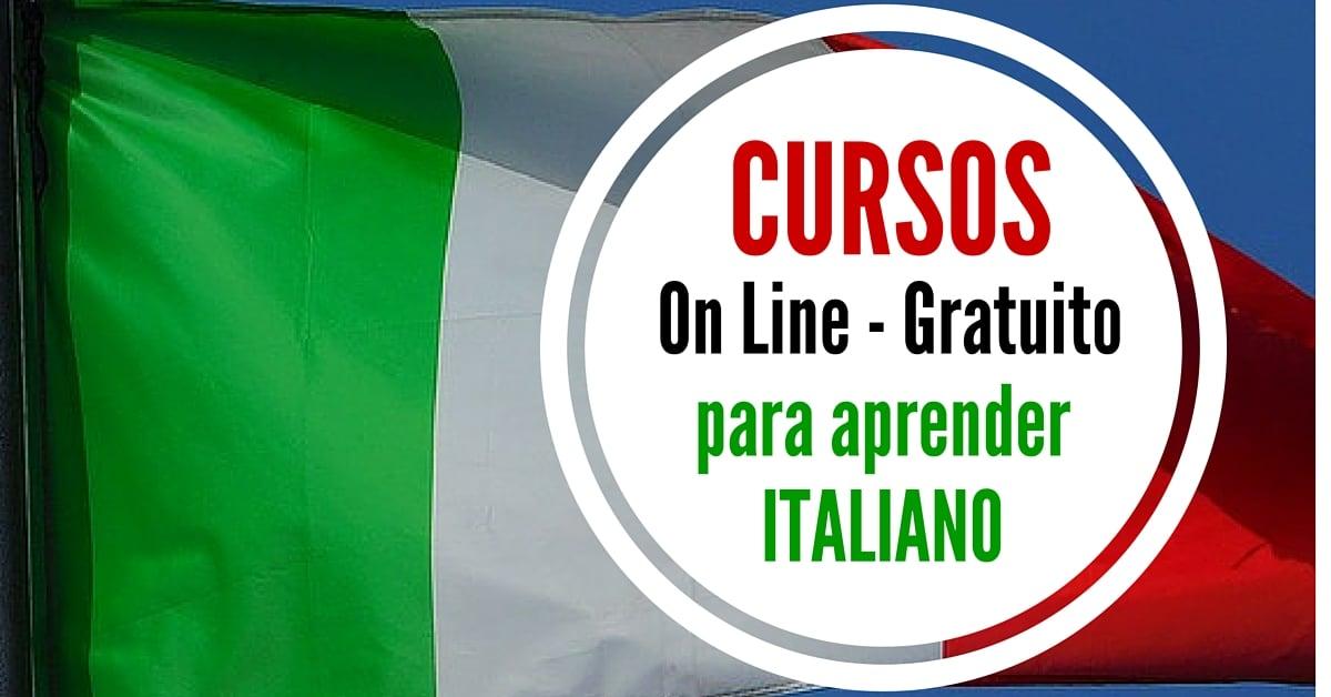 Cursos online para aprender italiano :  facile e gratuito !