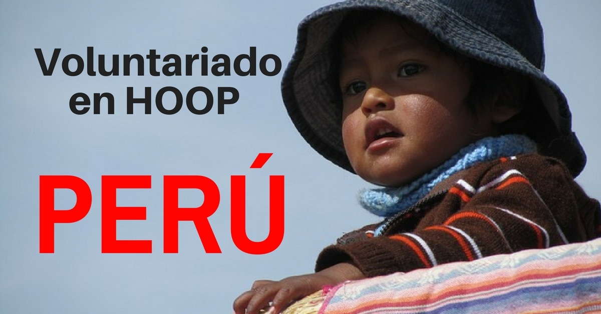 Voluntariado en la organización HOOP Perú